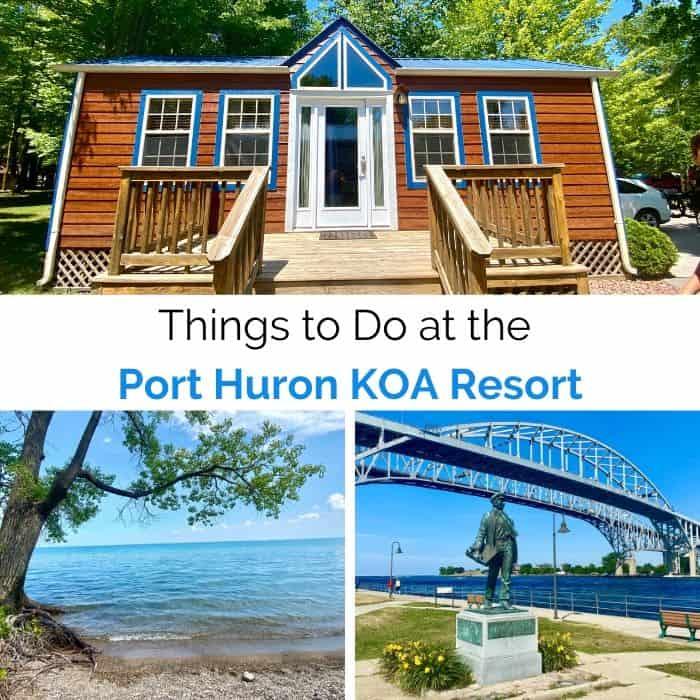 Things to Do at the Port Huron KOA Resort in Michigan