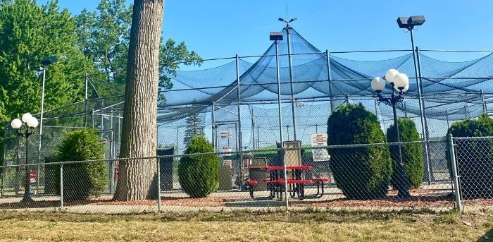 batting cages at Sawmill City