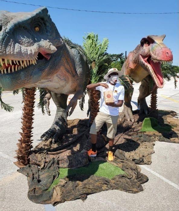 Jurassic Quest drive-thru dinosaur experience