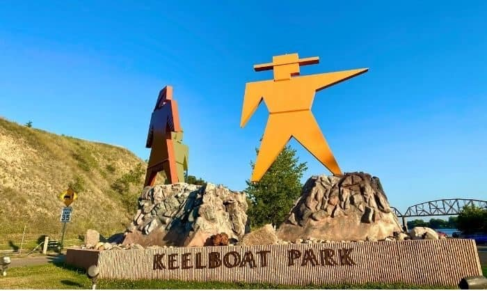 Keelboat Park in North Dakota