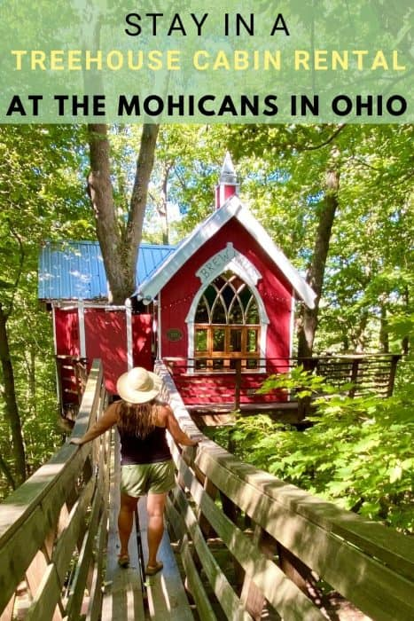 Stay in a Treehouse Cabin Rental at The Mohicans in Ohio