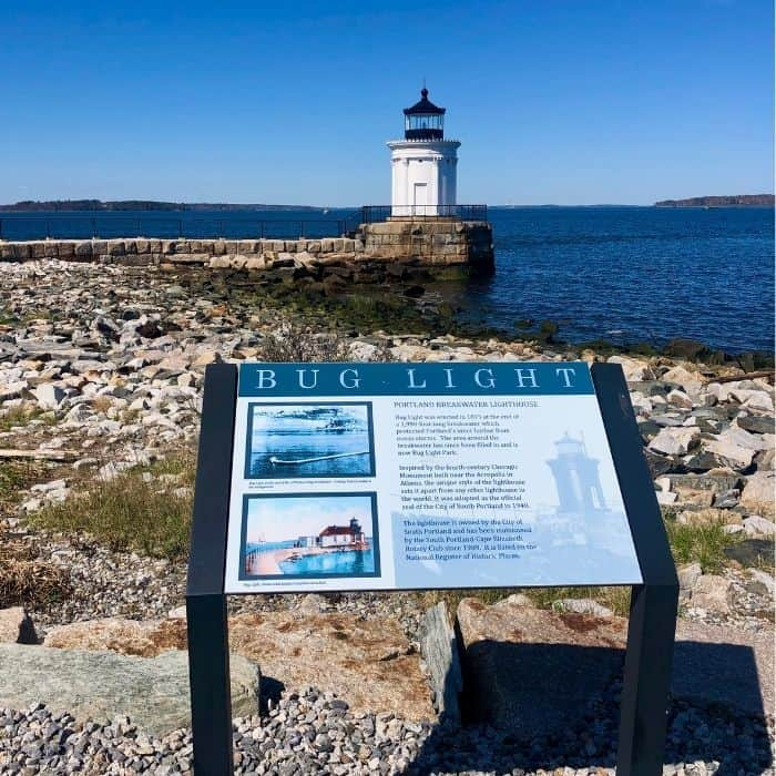 Bug Light Lighthouse in Maine