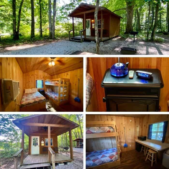 Cozy Cabin at Sheltowee Trace Adventure Resort