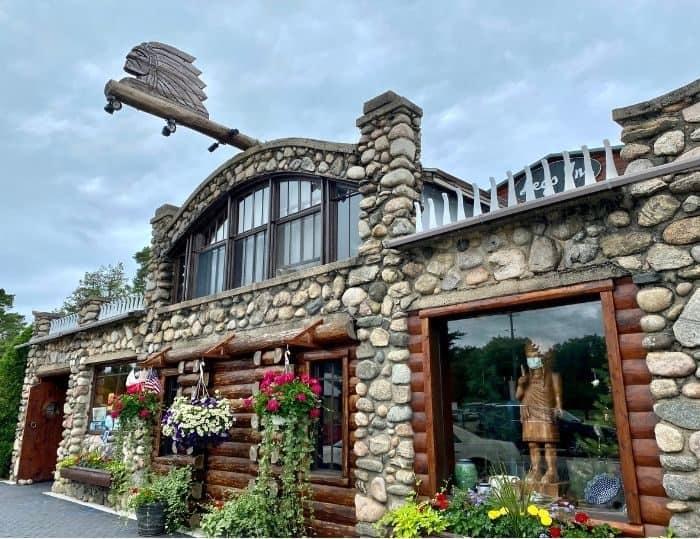 Legs Inn restaurant in Northern Michigan