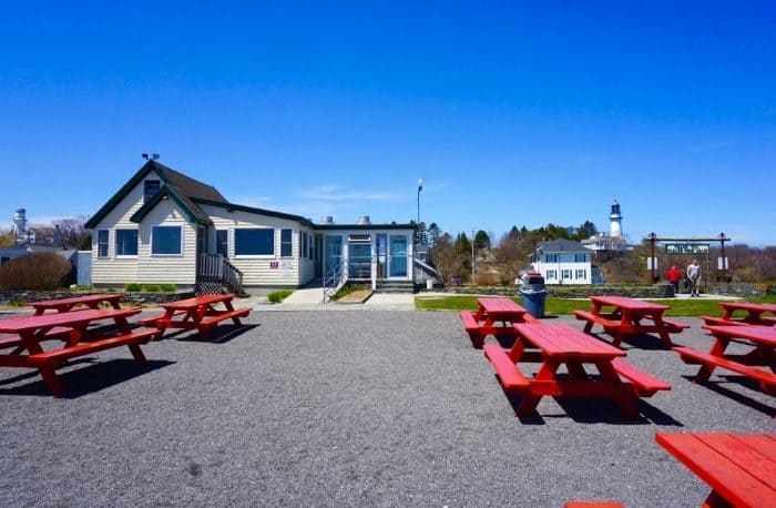 The Lobster Shack at Two Lights in Maine