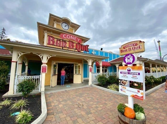 Tricks or Treats Tasting Card Venue at Kings Island