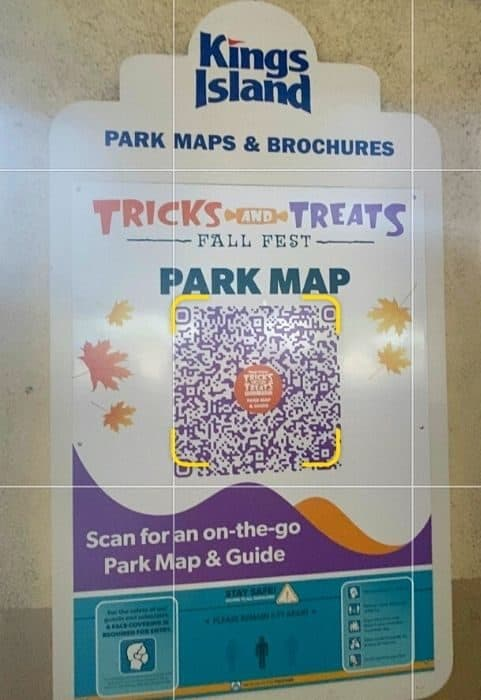 Tricks and Treats Fall Fest Map