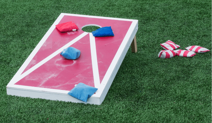 bean bag toss cornhole