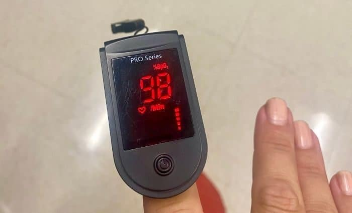 check pulse at doctor's office