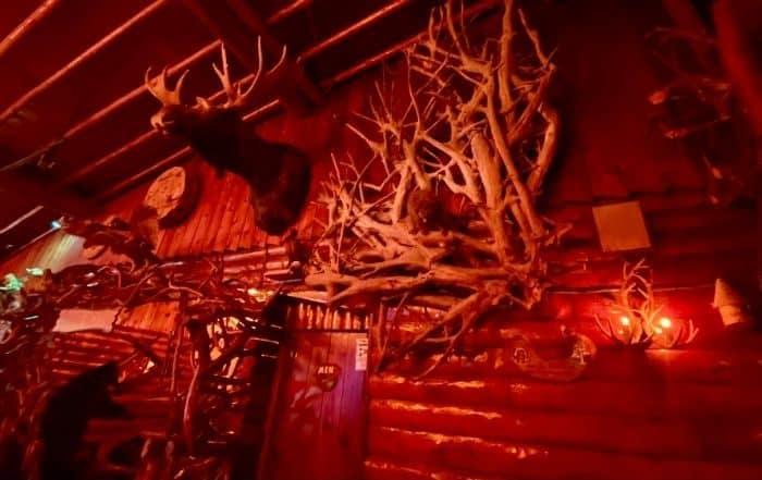 inside Legs Inn restaurant