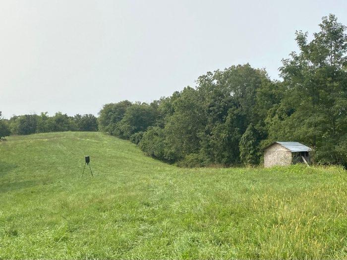 large field at Hidden Lake Farm