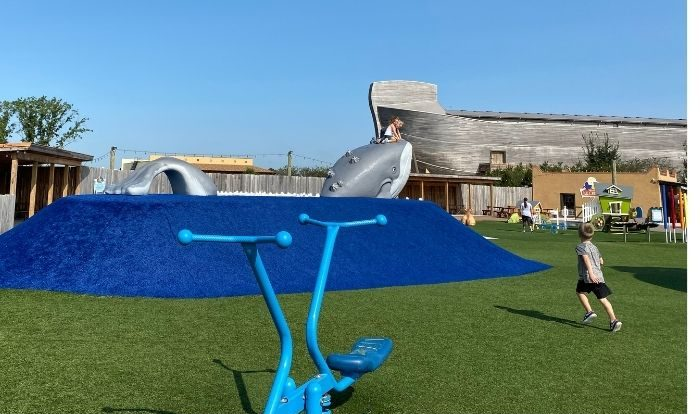 playground at the Ark Encounter