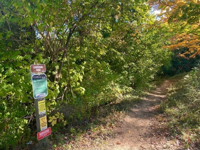 Mountain bike trail Devou Park