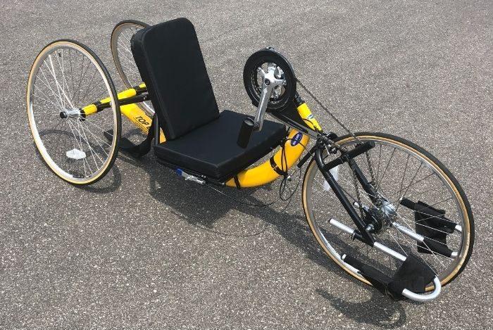 adaptive bike rentals at Devou Park