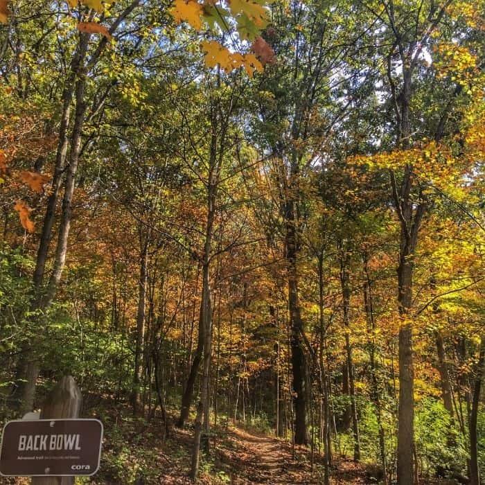 hiking trails in Devou Park