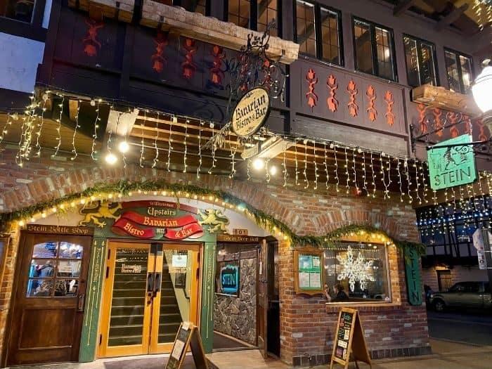 Bavarian Bistro and Bar in Leavenworth Washington