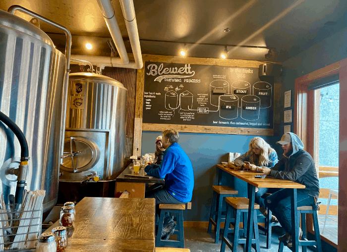 Blewett Brewing Company in Leavenworth WA