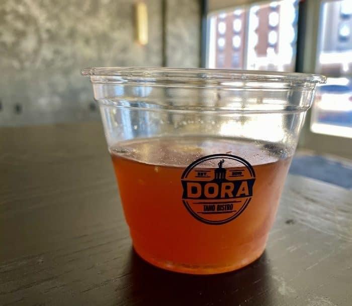 DORA cup in Hamilton Ohio