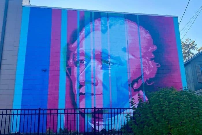 Hamilton Mural in Hamilton Ohio