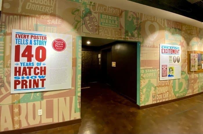 Hatch Show Print in Nashville, TN