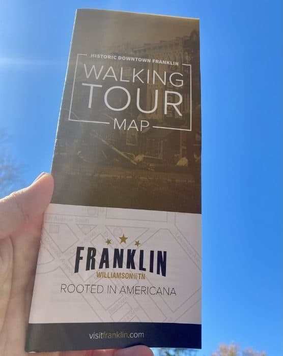 Historic Downtown Franklin Self-Guided Walking Tour