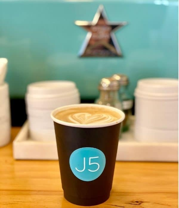 J5 Coffee in Leavenworth WA