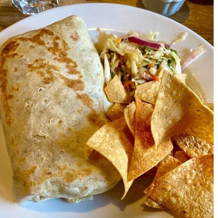 La Revolución Burrito  at SOUTH in Leavenworth WA
