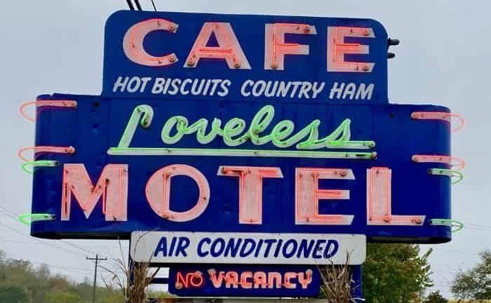 Loveless Cafe in Nashville TN