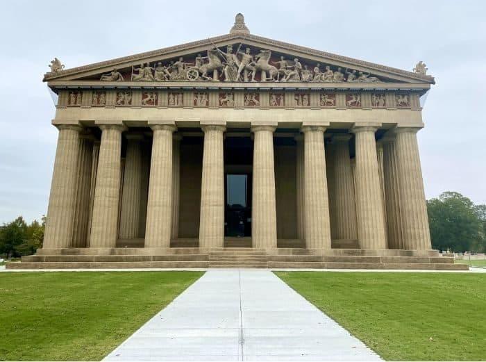 Parthenon in Nashville Tennessee