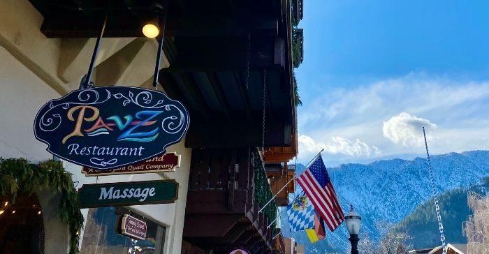 Pavz Cafe-Bistro in Leavenworth WA