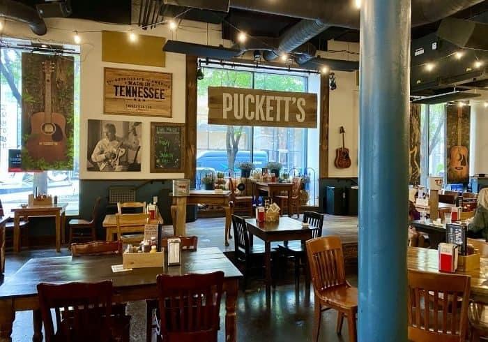 Puckett's Grocery and Restaurant  in Nashville