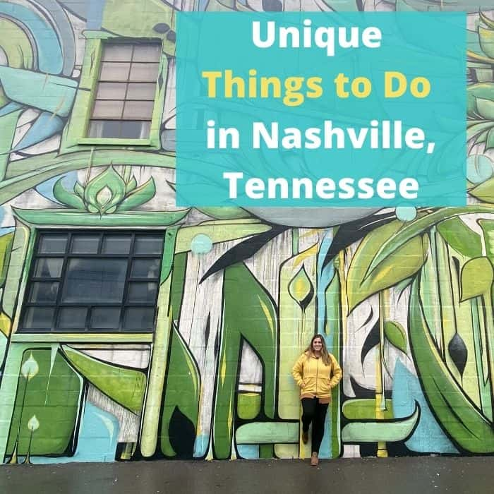 Unique Things to Do in Nashville, Tennessee