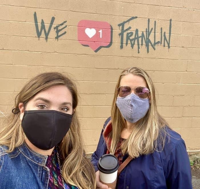 We love Franklin mural