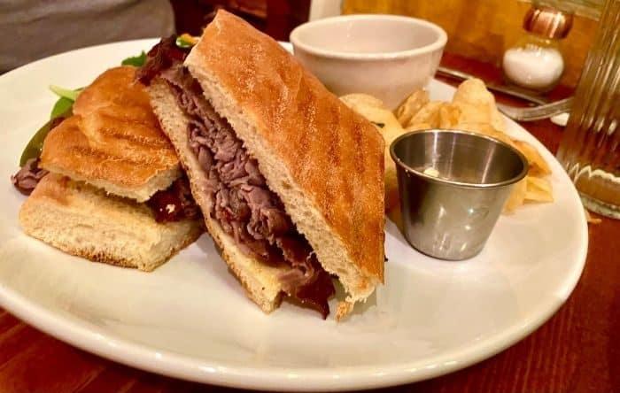 cuban sandwich at Pavz Cafe-Bistro in Leavenworth WA