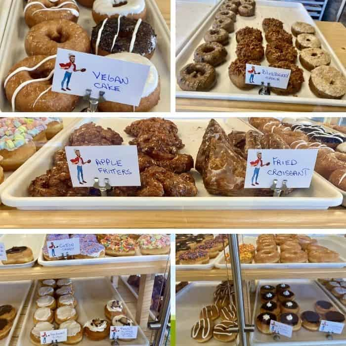 donuts at The Donut Dude