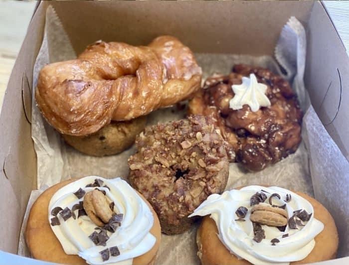 donuts from The Donut Dude in Hamilton Ohio