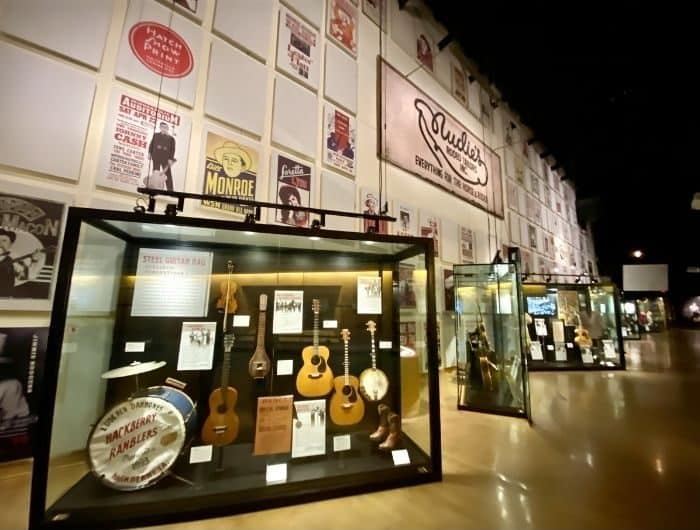 exhibits at the Country Music Hall of Fame and Museum