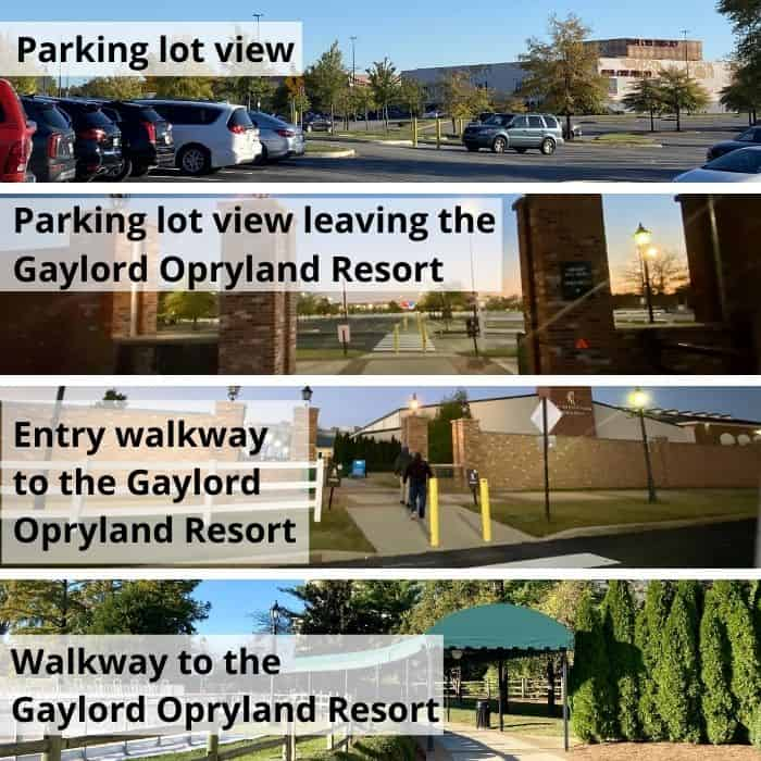 free parking for Gaylord Opryland Resort in Nashville TN