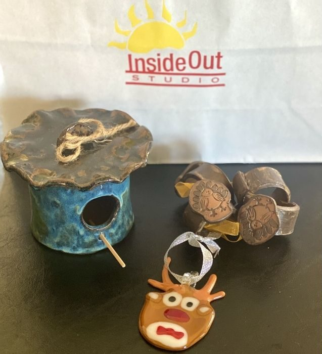 gift items from Inside Out Studio store in downtown Hamilton