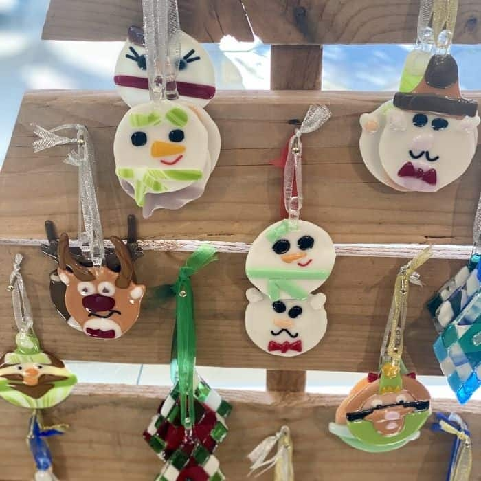 ornaments at Insideout Studio Gallery and Gifts in Hamilton Ohio