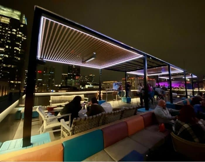 rooftop bar at Ole Red in Nashville Tennessee
