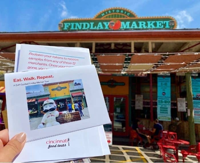 self guided tour of Findlay Market with Cincinnati Food Tours