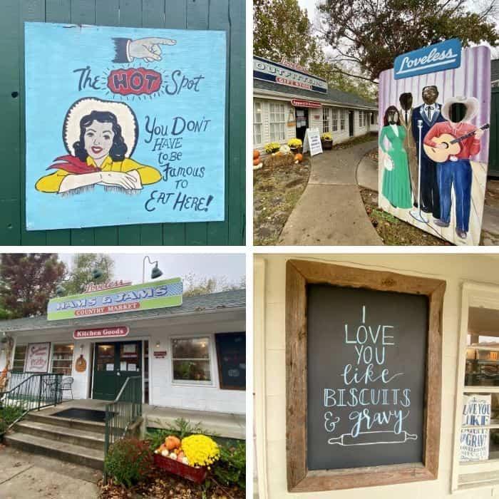 shops at the Loveless Cafe in Nashville TN