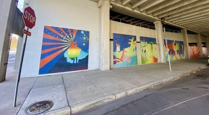 street art murals in Hamilton Ohio
