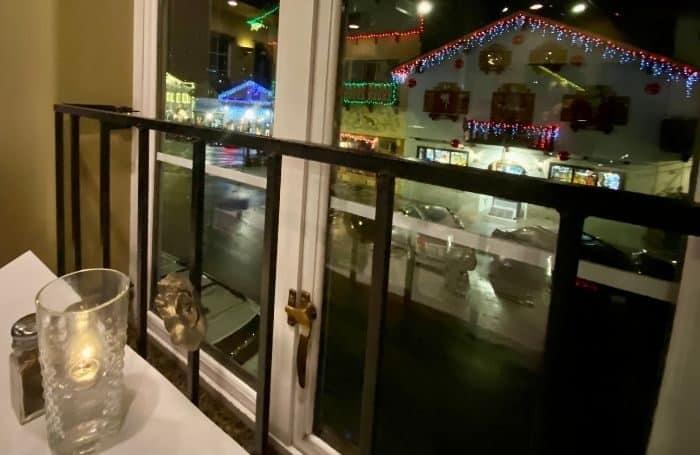 view from Visconti's in Leavenworth WA