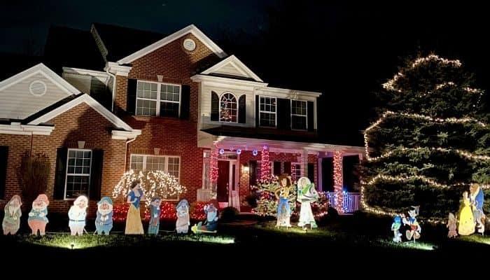 Christmas lights 1792 Fair Meadow Drive Florence Kentucky