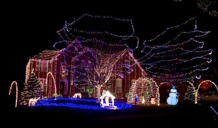 Christmas lights at 1031 Aristides Union Kentucky