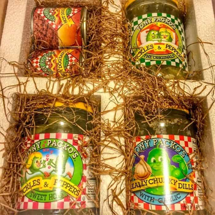 Pickles from Tony Packo's in Toledo Ohio