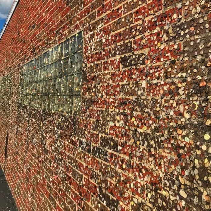 The Maid-Rite Sandwich Shoppe Gum Wall