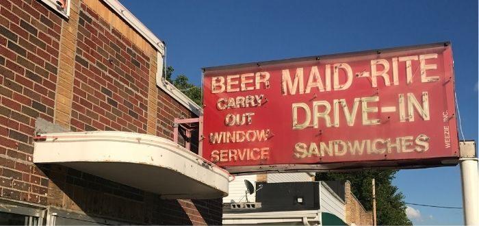 The Maid-Rite Sandwich Shoppe in Ohio